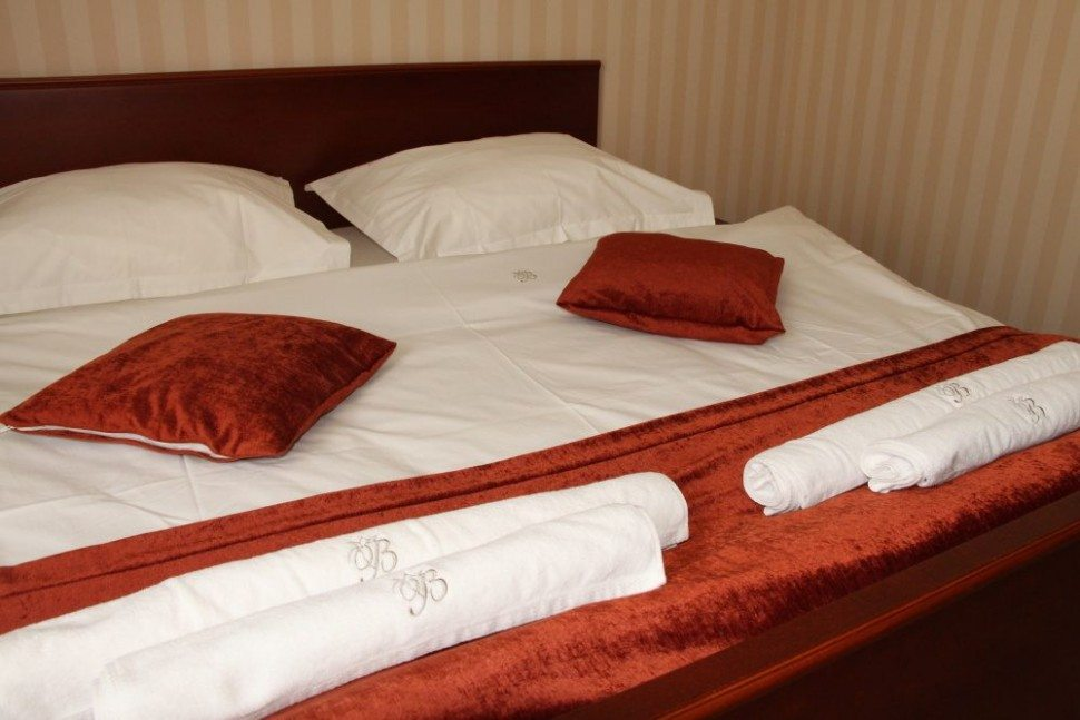 hotelové uteráky s osuškami